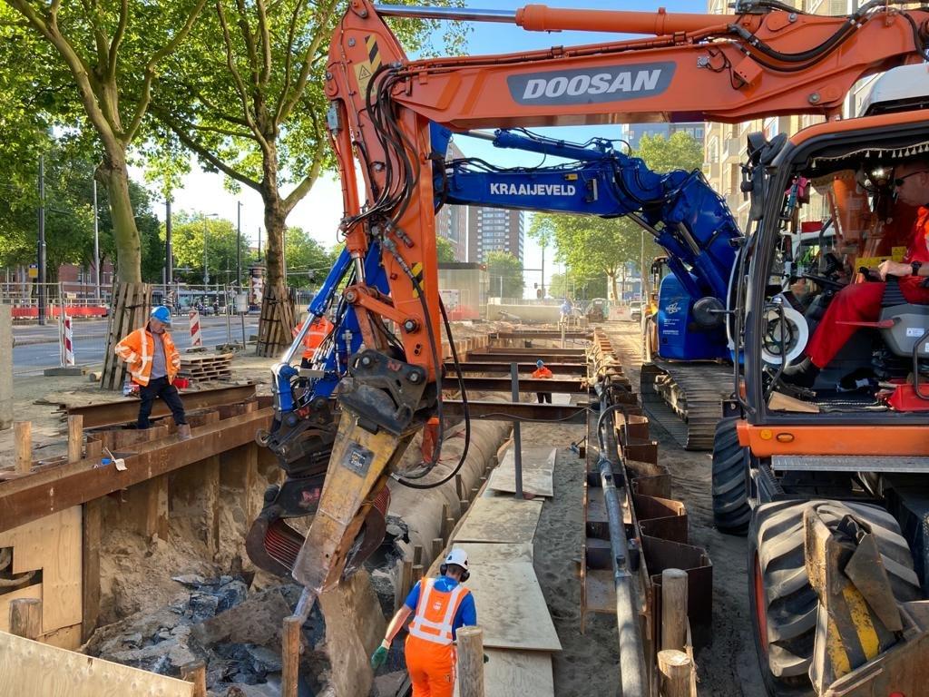 Omgevingsmanagement Oostplein Rotterdam